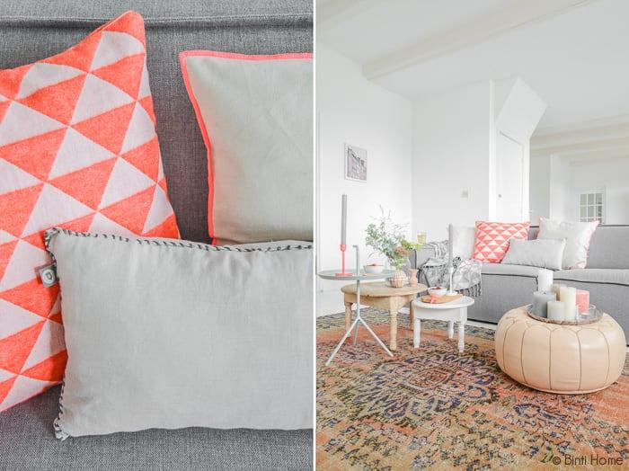 Zithoek woonkamer styling | Binti Home