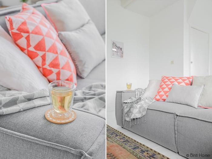 Styling met een grijze bank | Binti Home