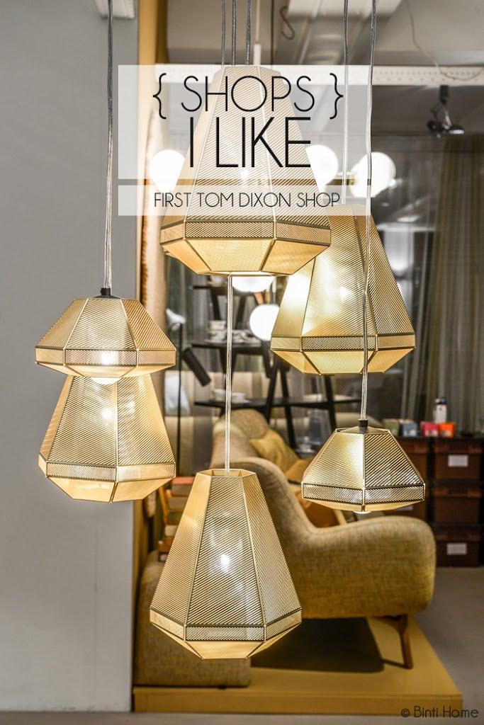 De eerste Tom Dixon shop is geopend bij Co van der Horst