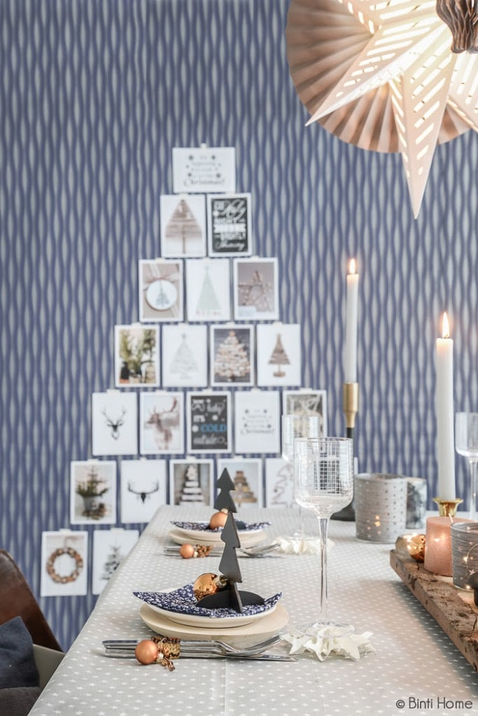 Stylingtips voor de aankleding van de kersttafel - Binti Home Blog