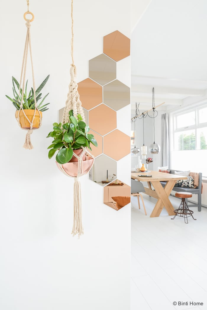 Urban Jungle Bloggers haning planters Binti Home Blog