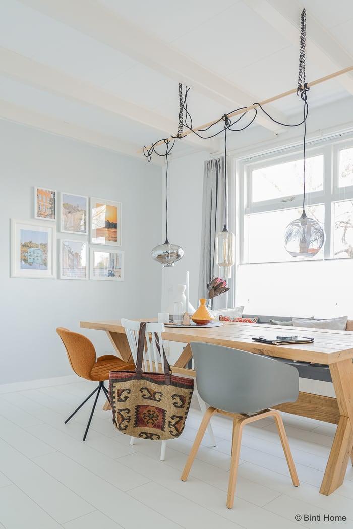 Omg mix van stoelen aan mijn eiken eettafel studio binti home - Mijn home design ...