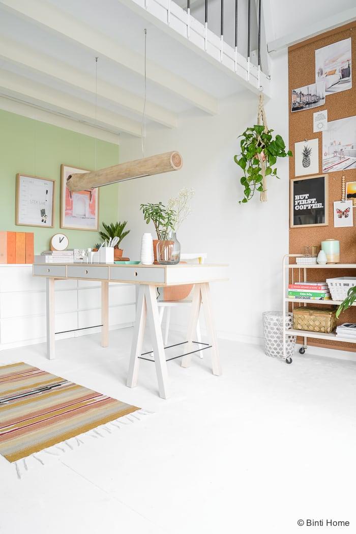 Inspiratie voor je eigen werkplek aan huis! ©BintiHome