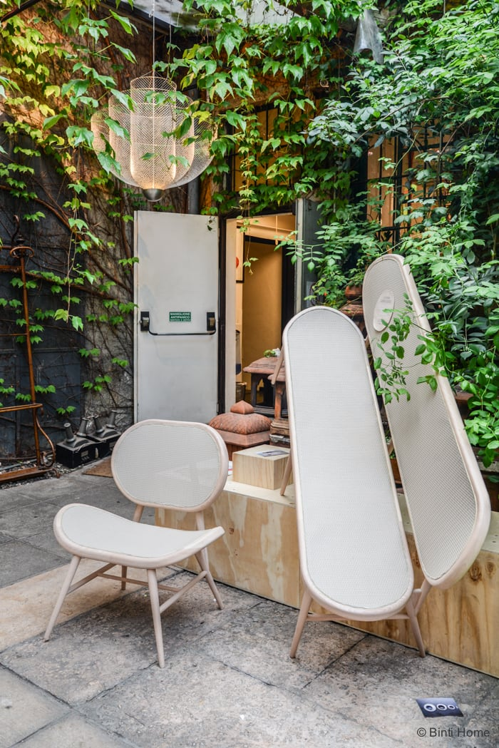 Bernardes Bench Rosanna Orlandi Salone del Mobile Ifuori Milan designweek  ©BintiHome