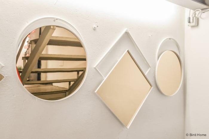 Mirrors Rosanna Orlandi Salone del Mobile Ifuori Milan designweek  ©BintiHome