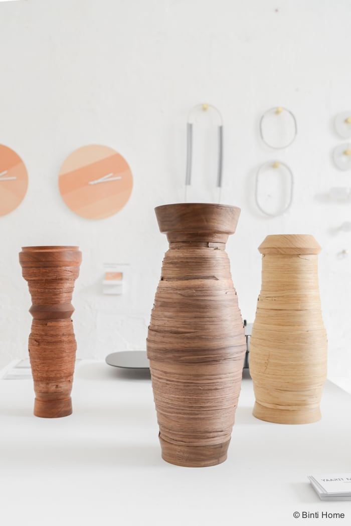 Yaarit Mechany Veneer Vases Ventura Lambrate  ©BintiHome
