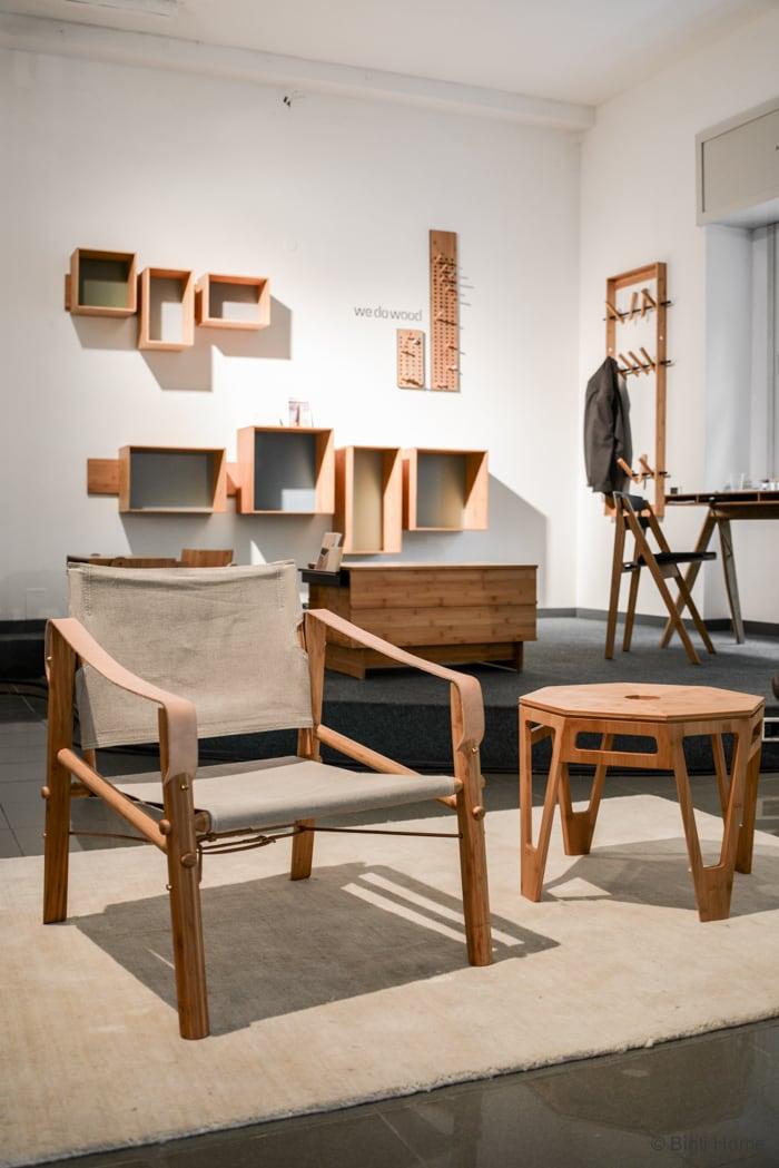 Wedowood nomad chair kickstarter Salone del Mobile Ifuori Milan designweek  ©BintiHome