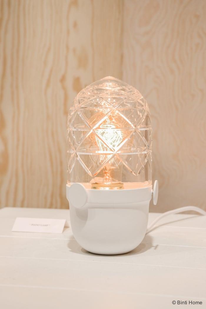 Jan and Henry Piano lamp Salone del Mobile Ifuori Milan designweek  ©BintiHome