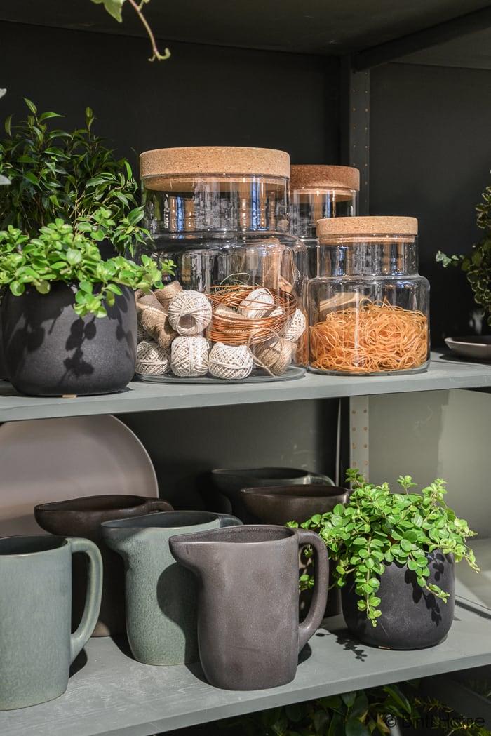 Voorraadpotten kurk MIlaan Ikea temporary Ilse Crawford ©BintiHome