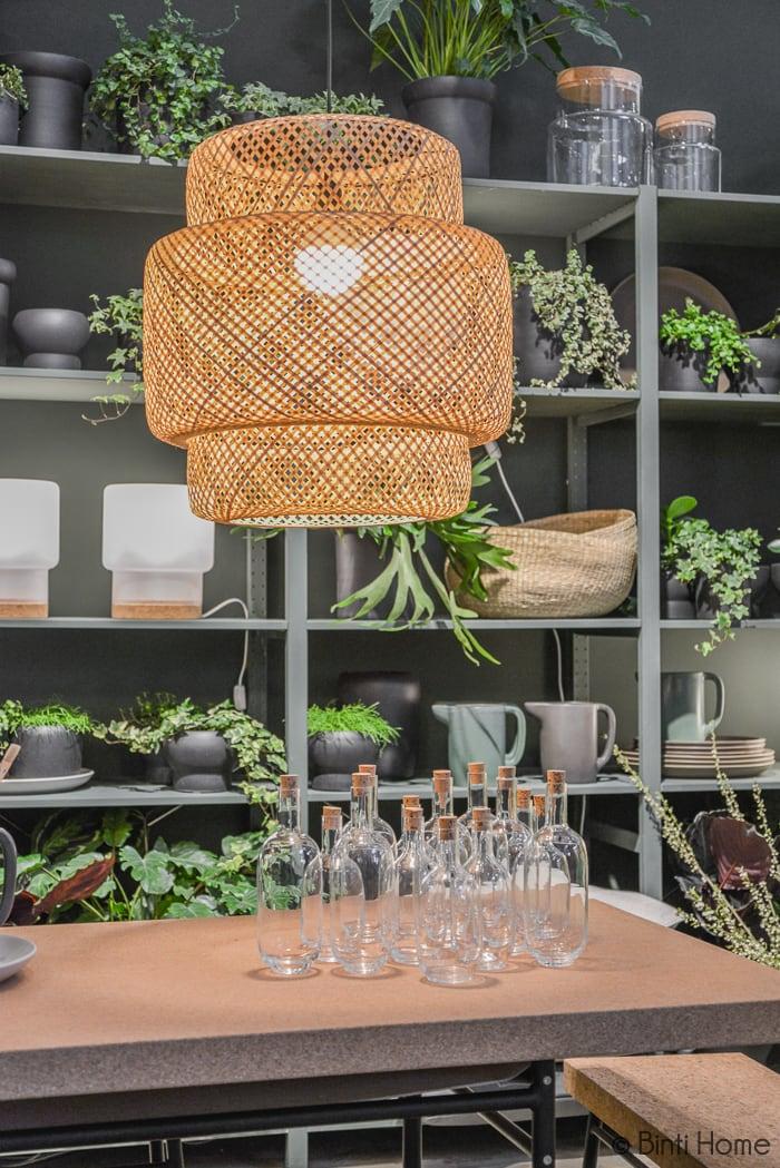 Lamp bamboo MIlaan Ikea temporary Ilse Crawford ©BintiHome
