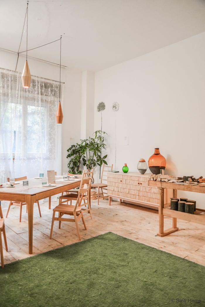 Green Room Sebastian Cox Salone del Mobile Ifuori Milan designweek  ©BintiHome