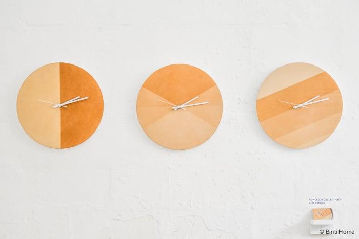 Sunclock  Milan designweek Yellow  ©BintiHome