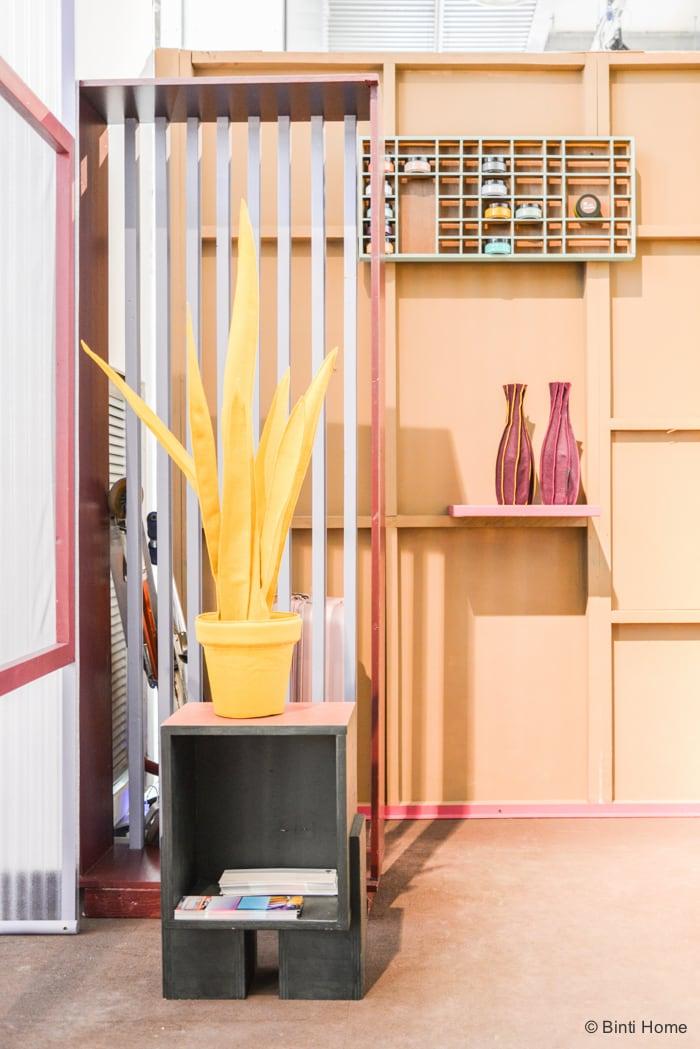 Wandschappen studio Ijm Milan designweek Yellow  ©BintiHome