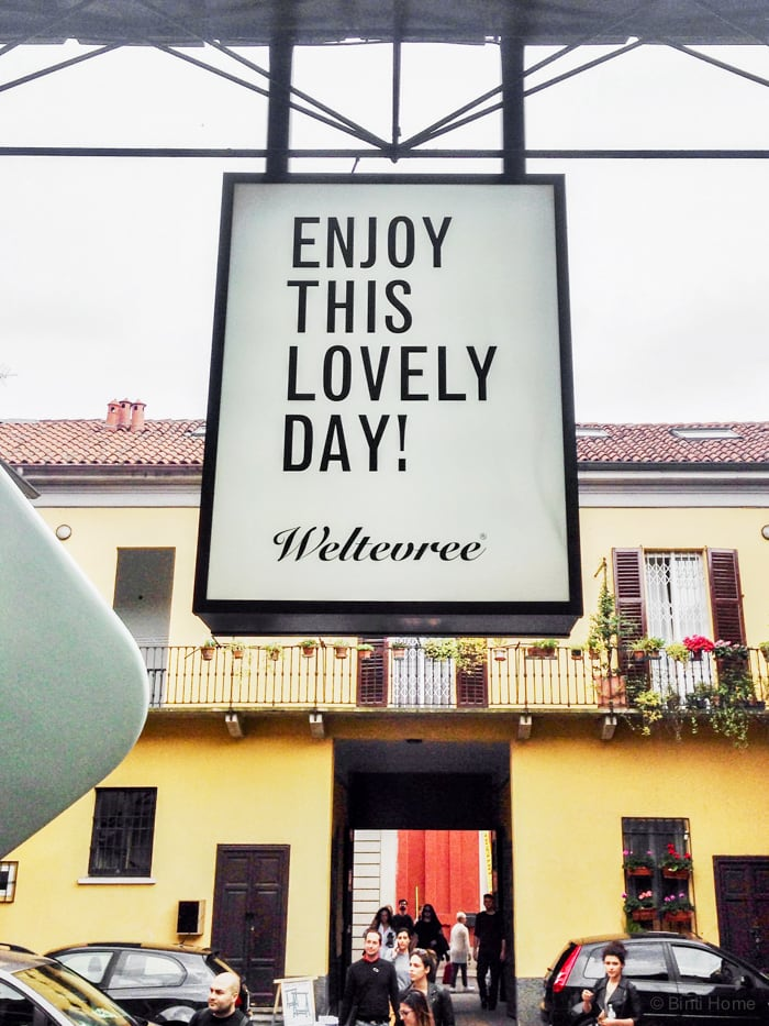 Weltevree Milan designweek Yellow  ©BintiHome