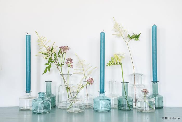 Stylingtip creatief met vazen in je interieur binti for Vazen hema
