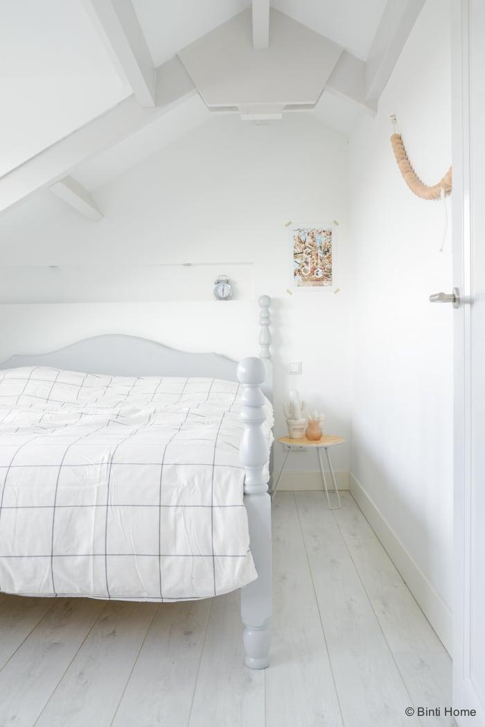 Woonboot slaapkamer Amsterdam Flair ©BintiHome