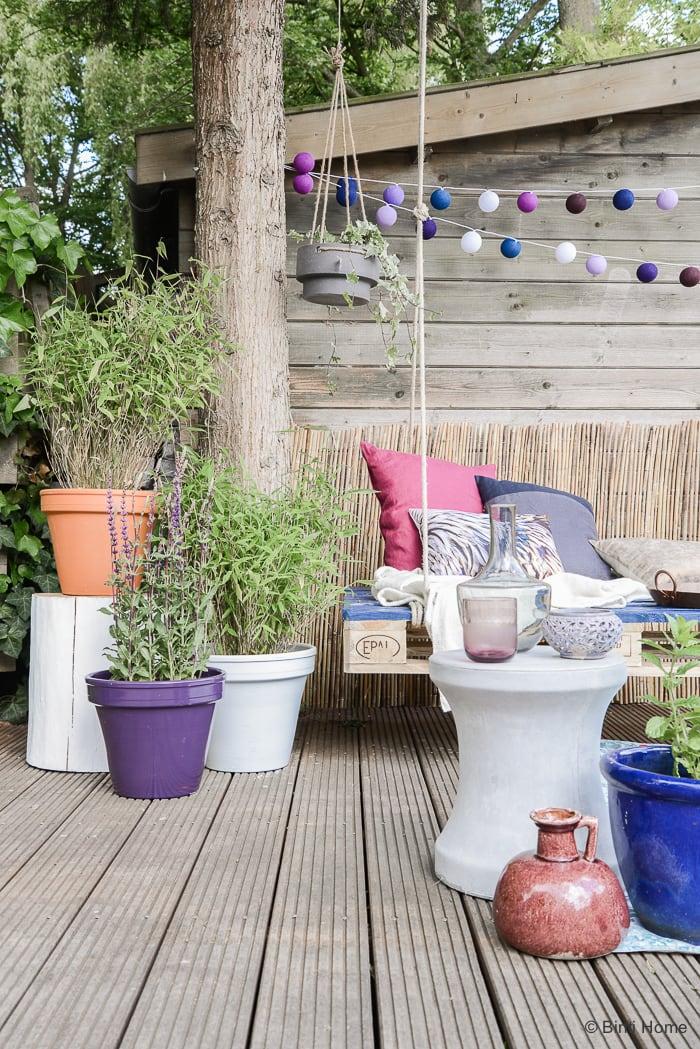 Bohemian sfeer tuinstyling buitenleven STEK Magazine ©BintiHome