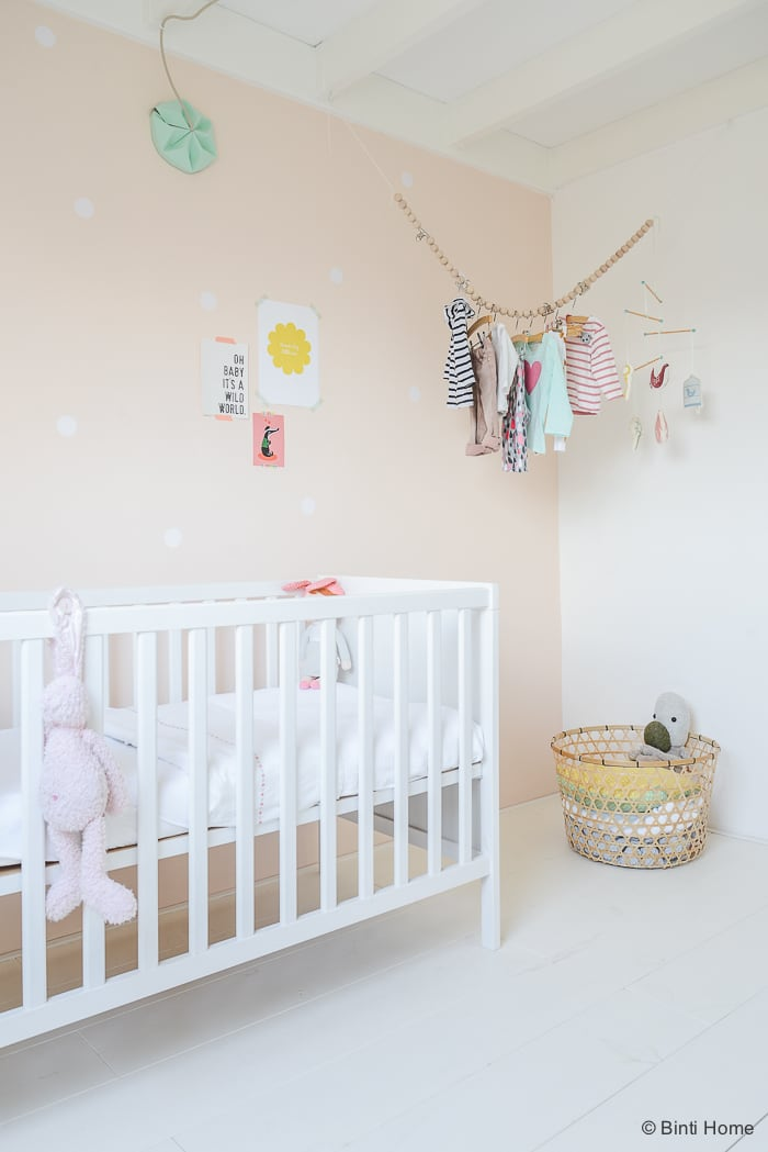 Babykamer zachte pasteltinten Binti Home Blog ©BintiHome