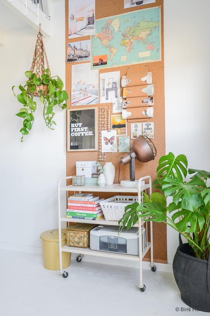 Groen in huis plantenhanger studio Egypte Binti Home Blog ©BintiHome