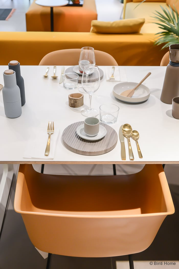 Mobilia Amsterdam Muuto table setting ©BintiHome