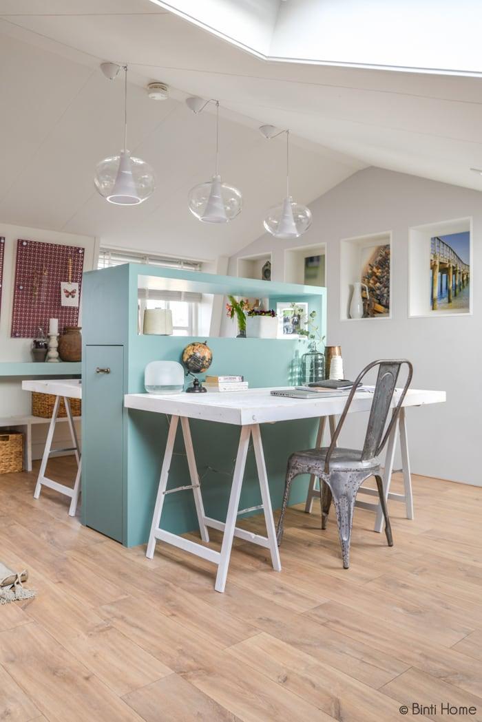 Interieurontwerp en styling zolderkamer Voorburg Eigen Huis en Tuin RTL4 voorjaar 2015 ©BintiHome studio