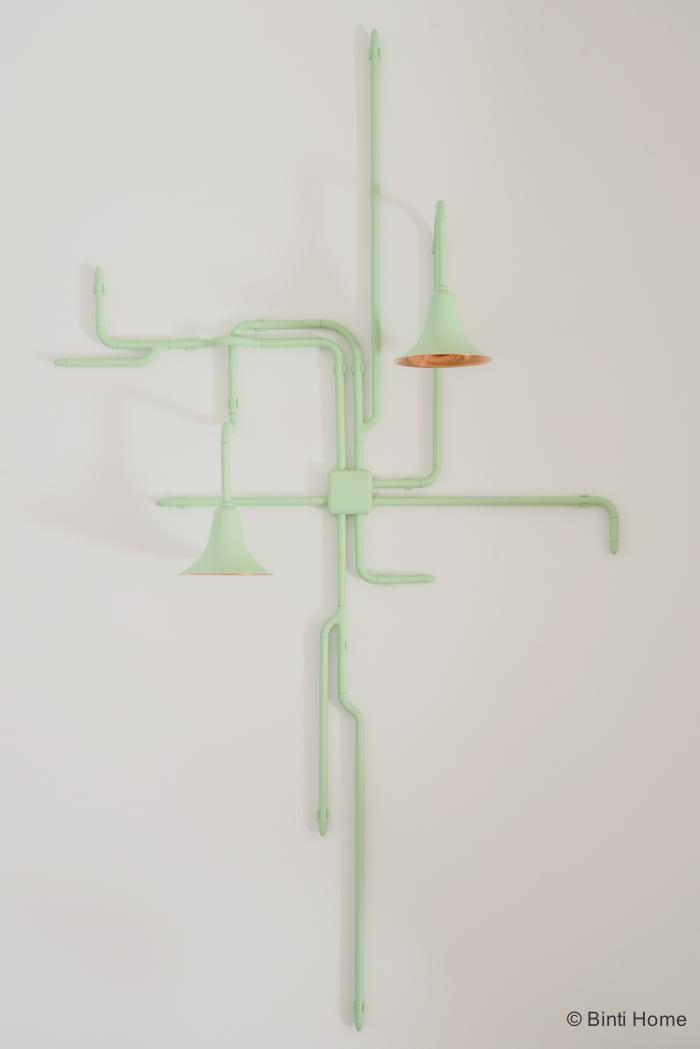 Interieurontwerp kantoorinrichting Inzicht Communicatie Lighting Forest Ontwerpduo Amsterdam ©BintiHome studio