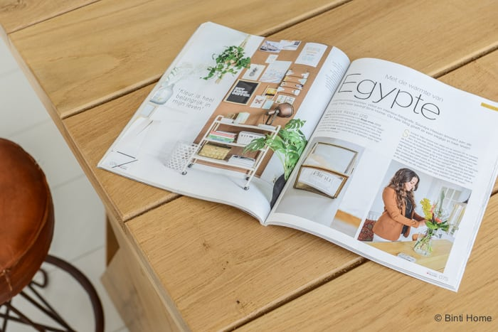 Binti Home Blog in VTwonen Blogazine 2015 ©Binti Home