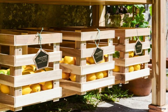 Ikea Catalogus persdag presentatie Binti Home Blog Paviljoen Puur Amsterdam fruitwater fruitkistjes ©BintiHome