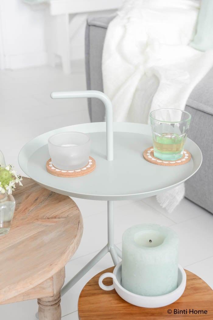 Hema woonkamerstyling in zachte kleuren hay dlm table ©Binti Home Blog