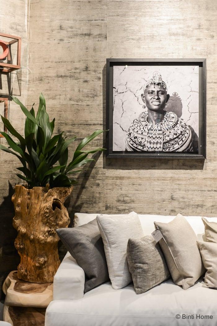 Salon Residence Singer Laren 2015 Clairz Interior Design prints © Binti Home Blog