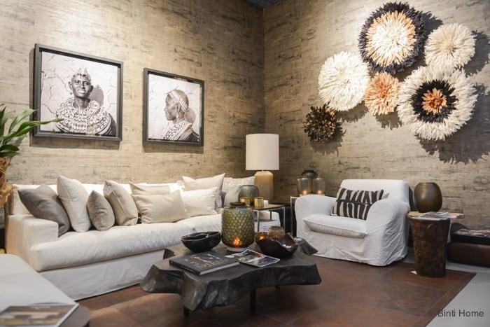 Salon Residence Singer Laren 2015 Clairz Interior Design woonkamer © Binti Home Blog