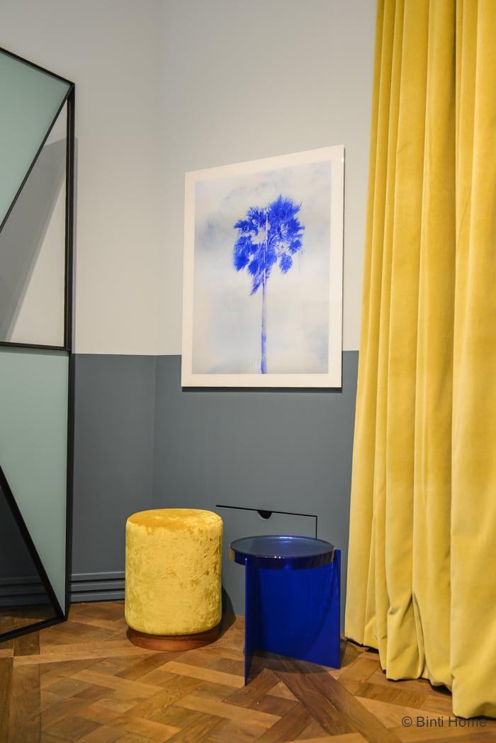 Salon Residence Singer Laren 2015 Framework studio palmboom © Binti Home Blog