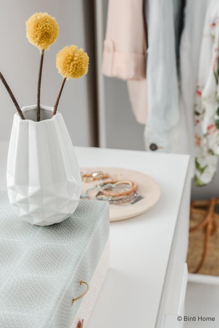 Romantische slaapkamer inspiratie pastel zachte tinten Laurien ©BintiHome
