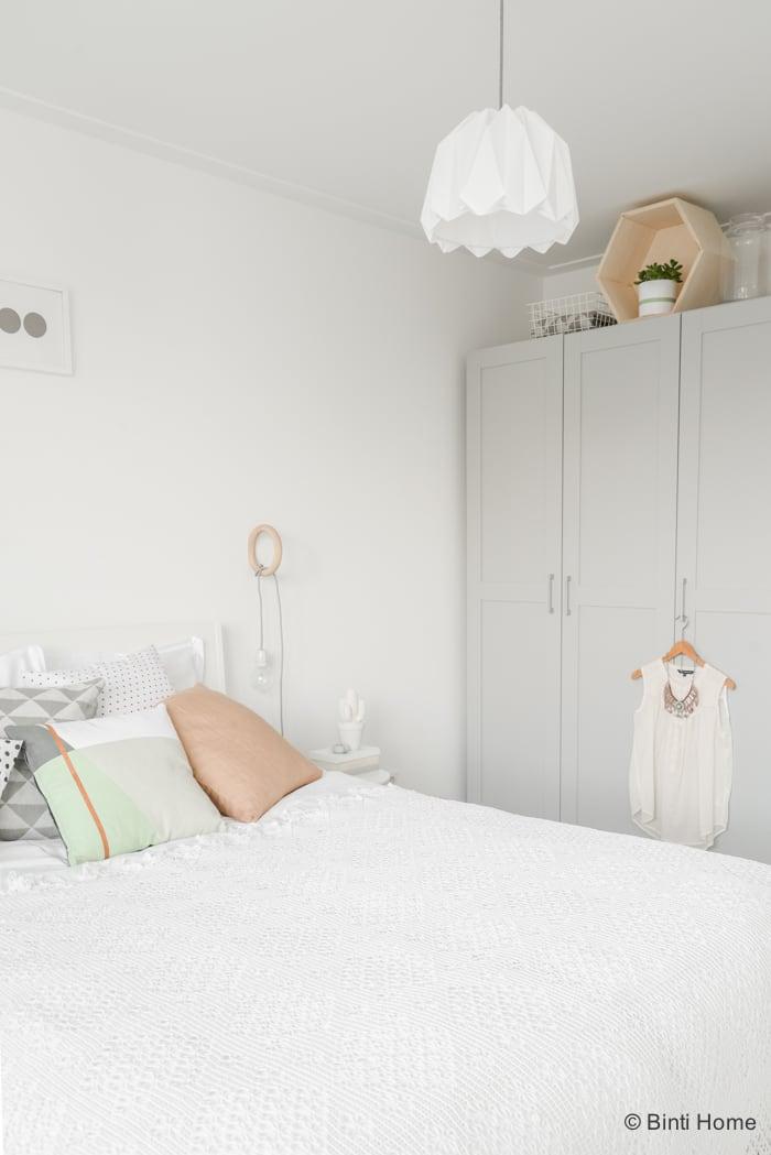 Slaapkamer inspiratie pastel zachte tinten Laurien ©BintiHome