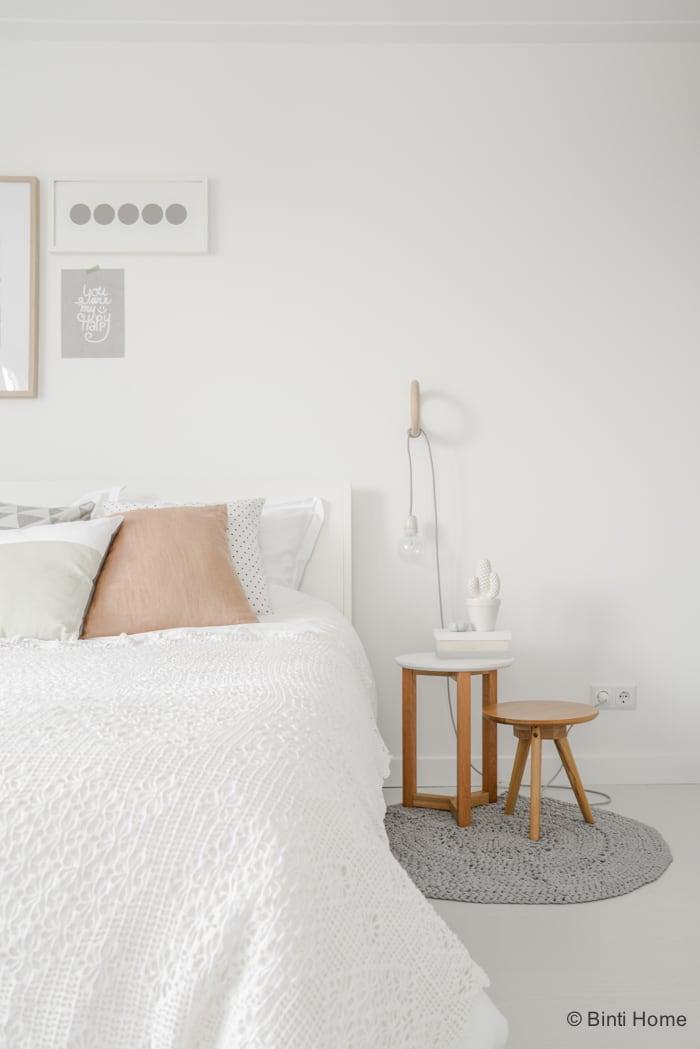 Fotos - Romantische Slaapkamer In Pastel Kleuren