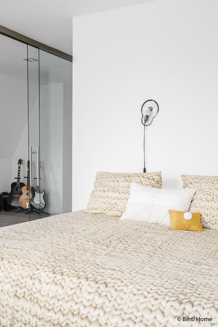 Binnenkijker interieurinspiratie slaapkamer snurk beddengoed ©BintiHome