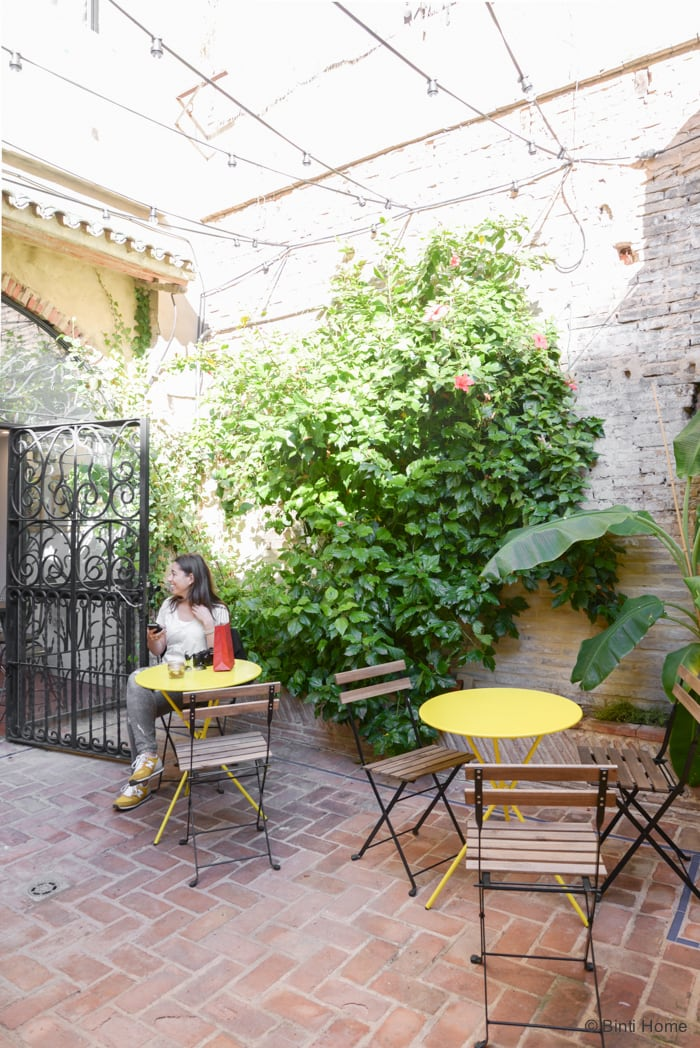 Blue Bell cafe inspiration Valencia ©BintiHome