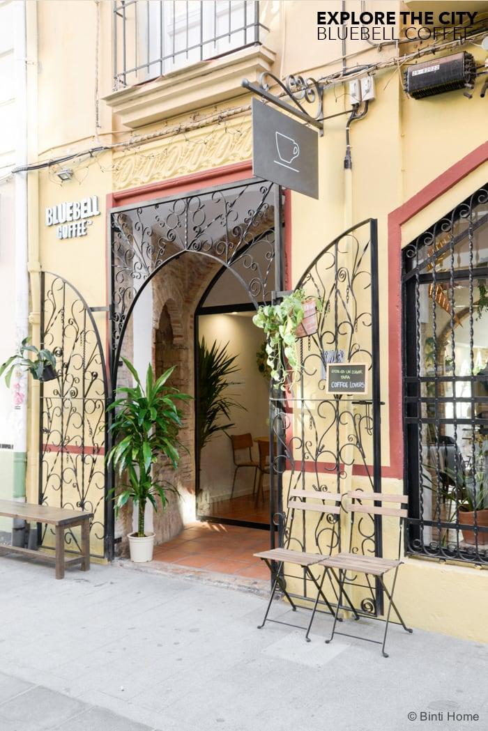 Blue Bell cafe inspiration Valencia INTERIOR ©BintiHome