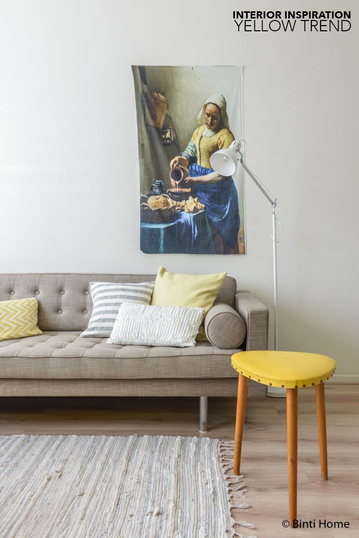 interiorinspiration yellowtrend interior ©BintiHome