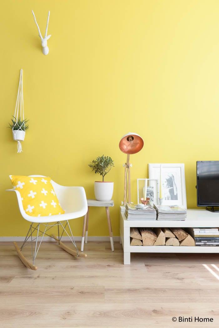Interieurfotografie trendkleur geel Flair 2015 ©BintiHome