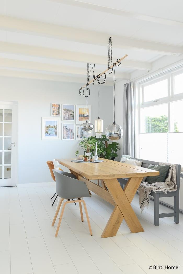 Groen styling in mijn huis het hele jaar door studio binti home - Leunstoel voor eetkamer ...