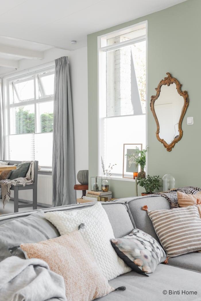 Bekend Pastel Groen Muurverf. Slaapkamer Groen Grijs In Amazing Voorraden  @ZA54