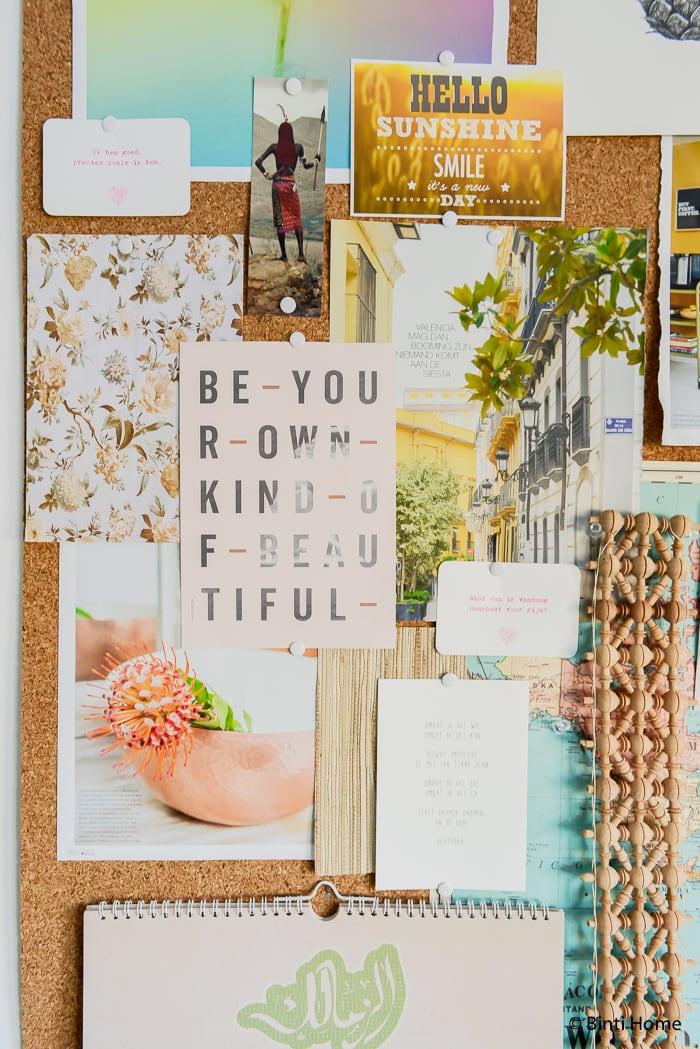 Studio Binti Home Kurk wand ©BintiHome