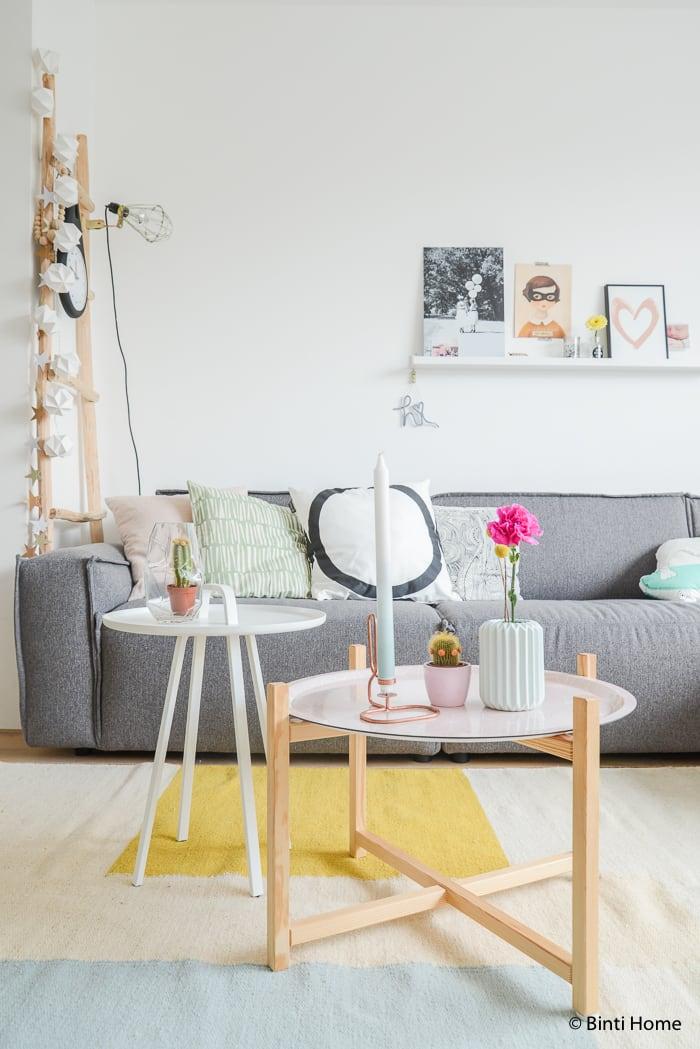 Binnenkijker woonkamer styling inspiratie pastel bintihome 3 binti home blog - Decoratie studio ontwerp ...
