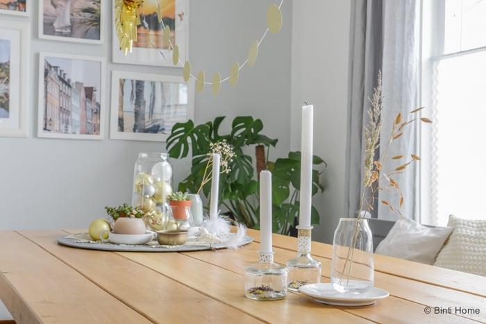 Kerststyling decoratie trendkleur goud ©BintiHome