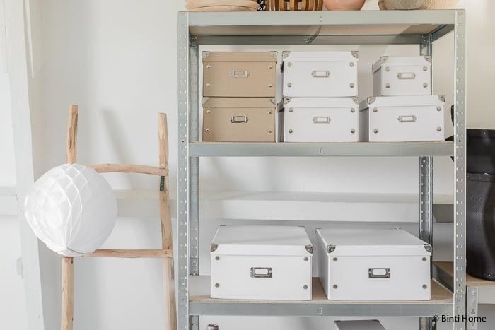 Hema opbergboxen opruimen blog ©BintiHome
