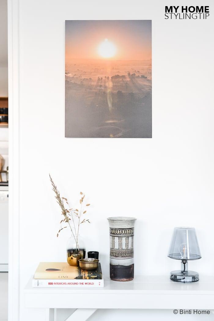Interieurstyling tip met boeken tijdschriften in huis ©BintiHome-5