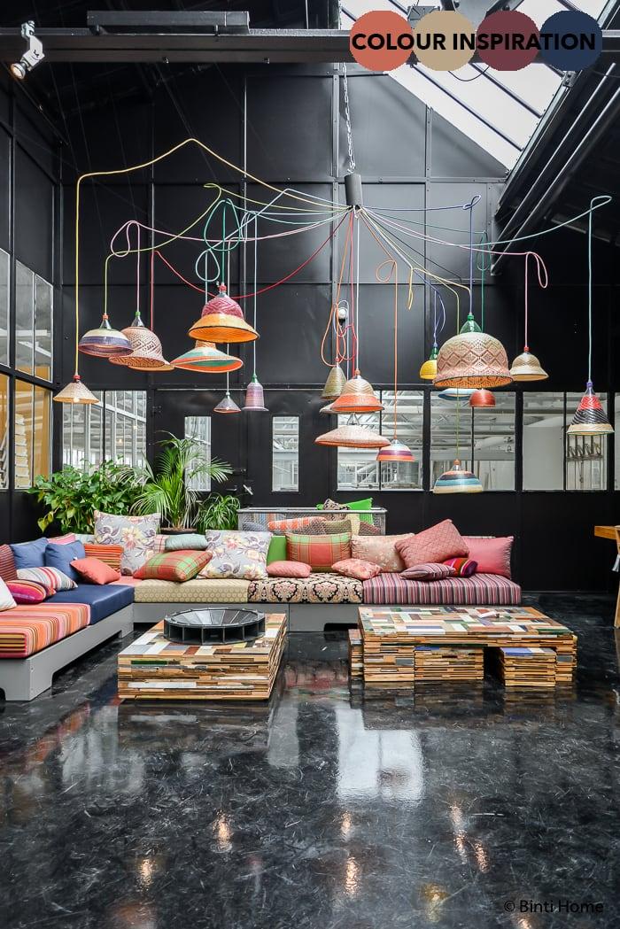 Piet Hein Eek Bohemian Eclectisch kleurenpalet styling ©BintiHome