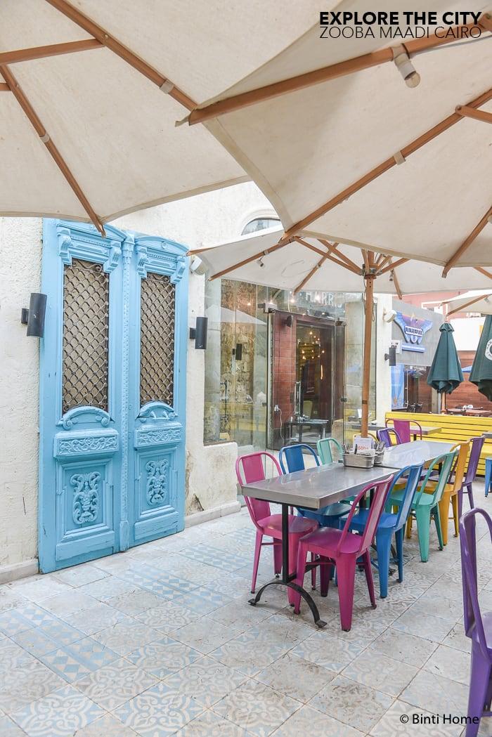Zooba Maadi restaurant design Egypt ©BintiHome-2
