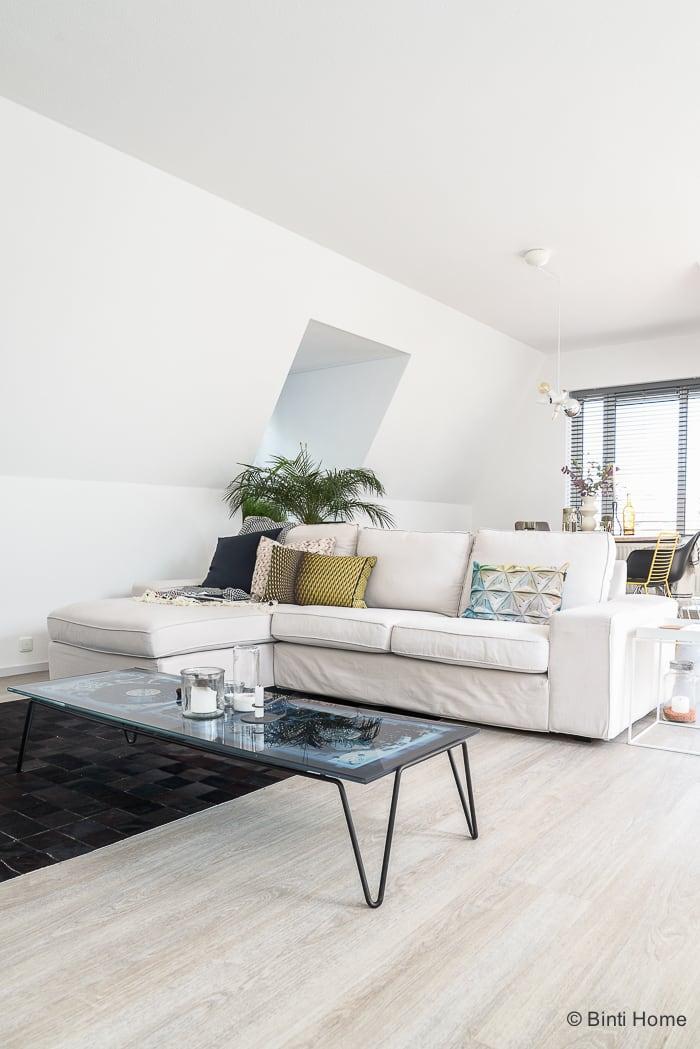 Eclectisch stoer wonen in een penthouse appartment ©BintiHome-2